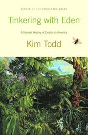 Cover of: Tinkering with Eden | Kim Todd