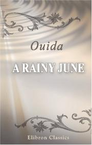 Cover of: A rainy June
