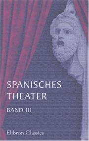 Cover of: Spanisches Theater