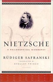 Cover of: Nietzsche | RГјdiger Safranski