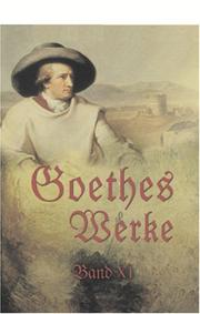Cover of: Goethes Werke