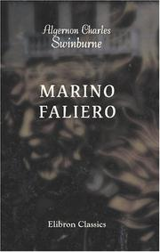 Cover of: Marino Faliero: a tragedy
