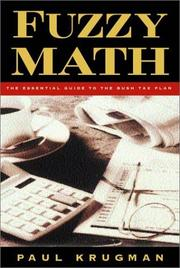 Cover of: Fuzzy Math | Paul R. Krugman