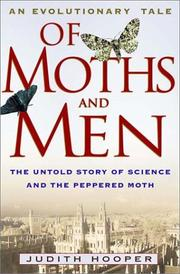 Cover of: Of moths and men