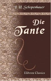 Cover of: Die Tante