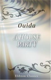 Cover of: A house party