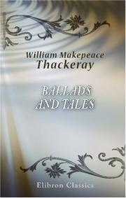 Cover of: Ballads and tales