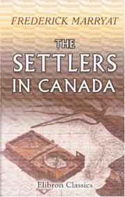 Cover of: The Settlers in Canada