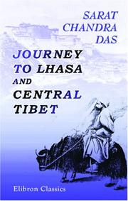 Cover of: Journey to Lhasa and central Tibet