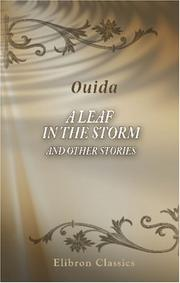 Cover of: A Leaf in the Storm and Other Stories