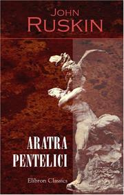 Cover of: Aratra Pentelici