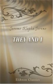 Cover of: They and I