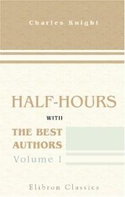 Cover of: Half-hours with the best authors