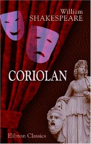 Coriolan by William Shakespeare