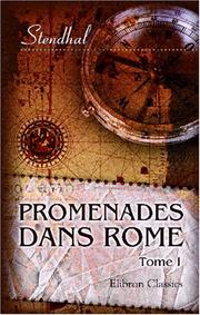 Cover of: Promenades dans Rome