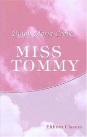 Cover of: Miss Tommy