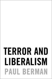 Cover of: Terror and Liberalism