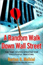 Cover of: A Random Walk Down Wall Street