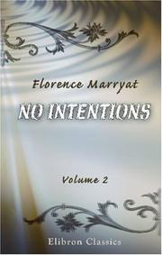 Cover of: No Intentions