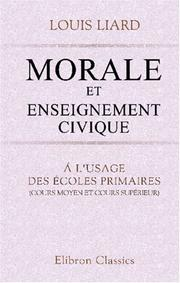 Cover of: Morale et enseignement civique
