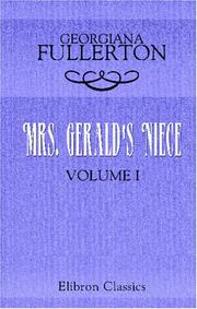 Cover of: Mrs. Gerald's Niece