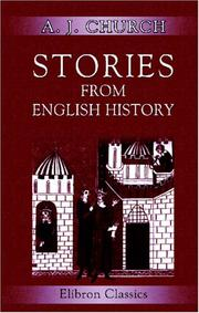Cover of: Stories from English history