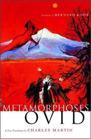 Cover of: Metamorphoses by Ovid
