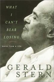 Cover of: What I can't bear losing
