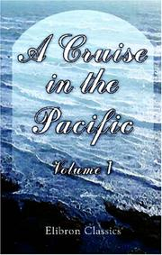 Cover of: A Cruise in the Pacific (vol. I)