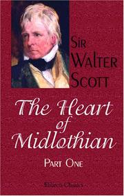 Cover of: The Heart of Midlothian | Sir Walter Scott