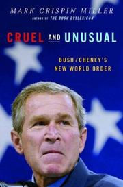 Cover of: Cruel and Unusual