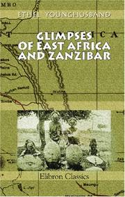 Cover of: Glimpses of East Africa and Zanzibar
