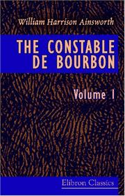 Cover of: The Constable de Bourbon