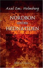 Cover of: Nordbon under Hednatiden