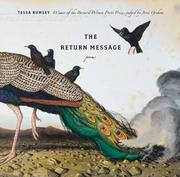 Cover of: The Return Message