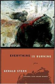 Cover of: Everything is burning