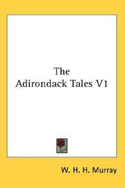 Cover of: The Adirondack Tales V1