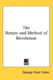 Cover of: The Nature and Method of Revelation