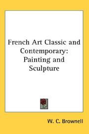 Cover of: French Art Classic and Contemporary