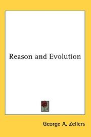 Cover of: Reason and Evolution