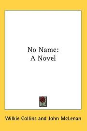Cover of: No Name | Wilkie Collins