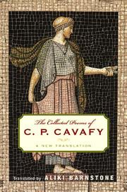 Cover of: The collected poems of C.P. Cavafy