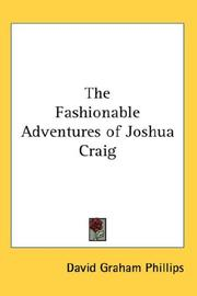 The Fashionable Adventures of Joshua Craig