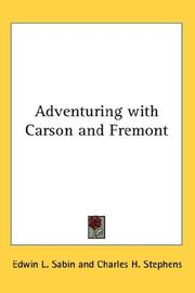 Cover of: Adventuring with Carson and Fremont