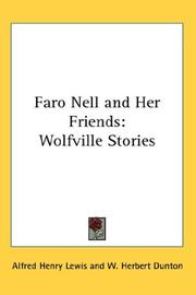 Cover of: Faro Nell and her friends