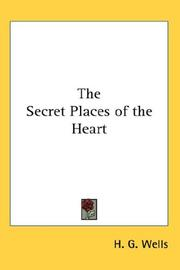 Cover of: The Secret Places of the Heart | H. G. Wells