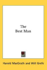 Cover of: The Best Man | Harold MacGrath