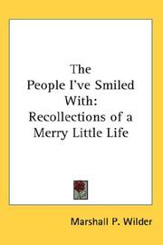 Cover of: The People I've Smiled With