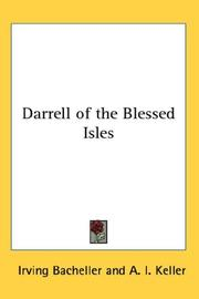 Cover of: Darrell Of The Blessed Isles