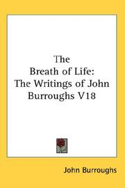 Cover of: The Breath of Life | John Burroughs
